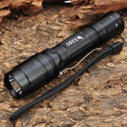 NEW-A20C Cree XR-E Q5 370LM 3-Mode White LED Tactical Flashlight w/ 2 x 18650 / Charger - Black