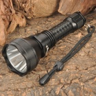 Cree XR-E Q5 3-Mode 310LM White 1-LED Waterproof Flashlight w/ Batteries & Charger (1x18650)