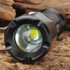 NEW-S06B XM-L T6 5-Mode 900LM White LED Convex Lens Flashlight w/ Battery & Charger (1x18650)