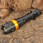 NEW-H50A XR-E Q5 3-Mode 370LM White LED Convex Lens Flashlight w/ Battery & Charger (1x18650)