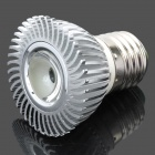 3W E27 7000K 600-1-Lumen Cree LED T6 White Light Bulb (AC 85 ~ 265V)