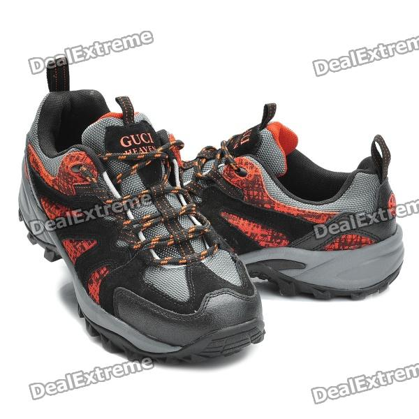 Guciheaven Outdoor Sports Shoes - Black + Red (EUR Size 42 / Pair)