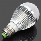E27 5W 500LM Cold White 25*5050 SMD LED Globular Bulb (AC 85~265V)