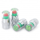 Tire Pressure Realtime Warning Air Valve Indicators (4-Piece Pack)