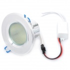 5W 3500K 500-Lumen 25-5050 SMD LED Ceiling Down Lamp w/ Driver (AC 85~265V)