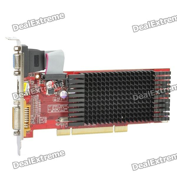 ATI Radeon HD5450 2GB DDR3 PCI Graphic Card - Red radeon hd 7990 в екатеринбурге