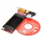 ATI Radeon HD5450 2GB DDR3 PCI Graphic Card - Red