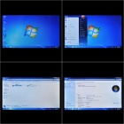 "COASTAR 10.1"" LED Capacitive Screen Windows 7 Tablets w/ Dual Intel Core / Camera / WiFi - Black"
