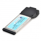 Gigabit Ethernet RJ45 to 34mm LAN Network Express Card Adapter for Laptops
