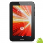 "Samsung P6200 Galaxy Tab 7.0 Plus Android 3.2 WCDMA Tablet Phone w/7.0"" Capacitive - Black (16GB)"