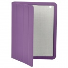 Fashion Protective Smart Cover Case for New iPad - Purple