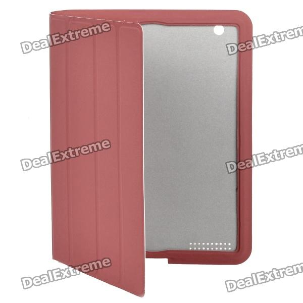 Fashion Protective Smart Cover Case for New iPad - Red