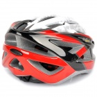 Cool Sports Cycling Helmet - Black + Red + White + Grey