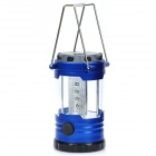 12-LED Dimming Camping Lamp w/ Compass - Blue (3 x AA)