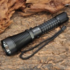 JACOB NEW-C50A Cree XR-E Q5 320LM 3-Mode White LED Flashlight w/Car Charger/Power Adapter (1x18650)