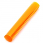 Protective PVC Membrane Film for Car Auto Lamp - Translucent Orange (70 x 30cm)