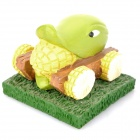 Plants vs Zombies Spiel Corn Chariot Shooter Toy - Gelb + Grün
