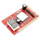 PCI-E LPC Diagnostic Test Card for Laptop - Red