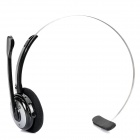 Bluetooth V3.0 + EDR Handsfree Headset - Black + Silver (8-Hour Talk / 200-Hour Standby)