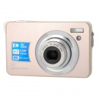 K10 5.0MP Digital Camera w/ 3X Optical Zoom / 4X Digital Zoom / SD - Champagne(2.7