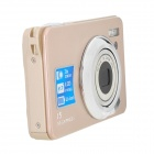 "K10 5.0MP Digital Camera w/ 3X Optical Zoom / 4X Digital Zoom / SD - Champagne(2.7"" LCD)"
