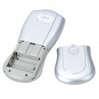 "2.0"" LCD Rechargeable Acupunctural Digital Therapy Machine - Silver"