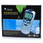 "2.0"" LCD Acupunctural Digital Therapy Machine - Silver (3 x AAA)"