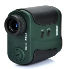 B-7032 Professional 7X32 Laser Range Finder Monocular - Dark Green + Black