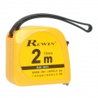 Rewin Tape Measure Measuring Tape - Yellow (2M)