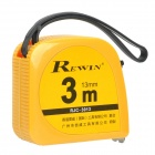 Rewin Tape Measure Measuring Tape - Yellow (3M)