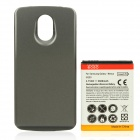 Replacement 3.7V 3600mAh Battery Pack w/ Back Cover for Samsung Galaxy Nexus i9250 - Grey + White