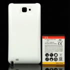 Replacement 3.7V 5200mAh Battery Pack w/ Back Cover for Samsung Galaxy Note i9220 GT-N7000 - White