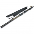 Portable 7-Section Telescopic Fishing Rod Pole (287CM Length)