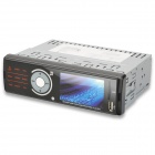 "3.0"" LCD Car Single Din Multi-Media Player w/ FM / SD - Black"