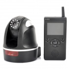 "300KP Wireless Security Camera w/ 2.4"" Monitor Receiver - Black"