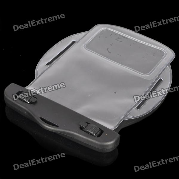 Waterproof PVC Bag Case w/ Strap / Armband for Cell Phone + More - Transparent White