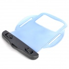 Waterproof PVC Bag Case w/ Strap / Armband for Cell Phone + More - Transparent Light Blue