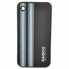 RAISOO T4 Dual SIM Dual Standby Quadband Apple Peel iPod Touch 4 to iPhone Convertor Device - Black