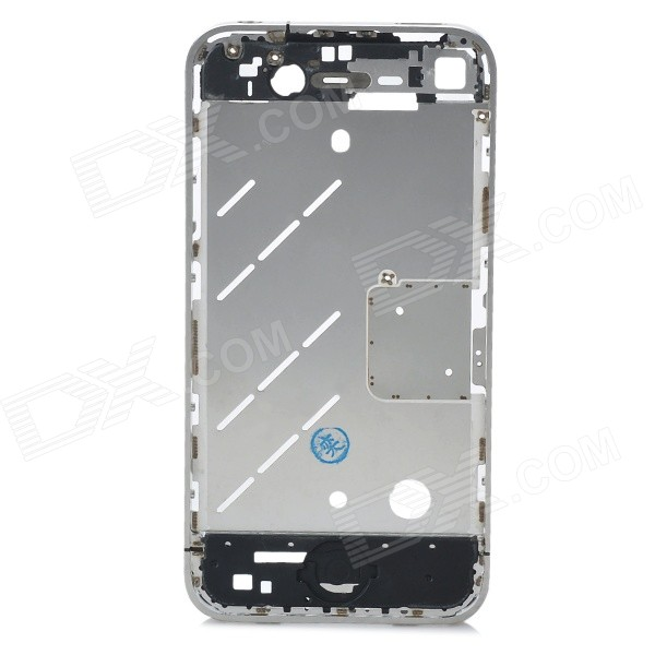 IA74 Original Chassis Middle Housing Frame for Iphone 4S - Silver ia73 original chassis middle housing frame for iphone 4 silver