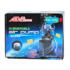 8.5W sumergible Acuario bomba de aire w / 4 Red-LED (AC 220 ~ 240V / 2-Flat Pin-Plug)