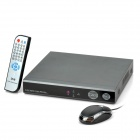 8-Channel Network HD Digital Video Recorder w/ Remote Controller - Silver Grey