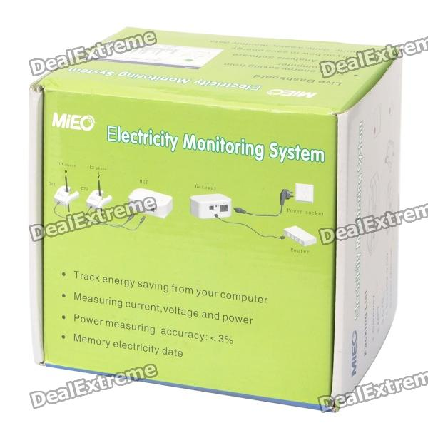 Electrical Energy Monitoring System : Ha electricity monitoring system ac v free