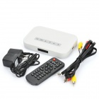 Compact Media Player w/ SD / MMC / USB - White