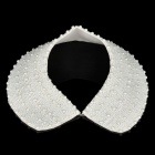Fashion Elegant Imitation Pearls Collar Necklace (White)