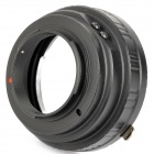Nikon 1 to Canon EOS Lens Adapter - Black