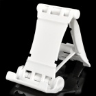 Engineering Plastic Holder Stand for Cell Phone / Tablet PC + More - White
