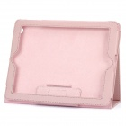 Stylish Protective Leather Case for The New Ipad - Pink