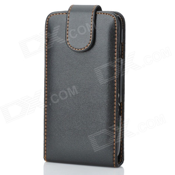 Protective Leather Case for Samsung Galaxy Nexus i9250 - Black