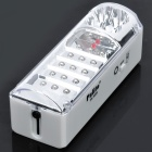 Rechargeable 2-Mode 19-LED White Light Emergency Flashlight (1 x Lead-acid battery)