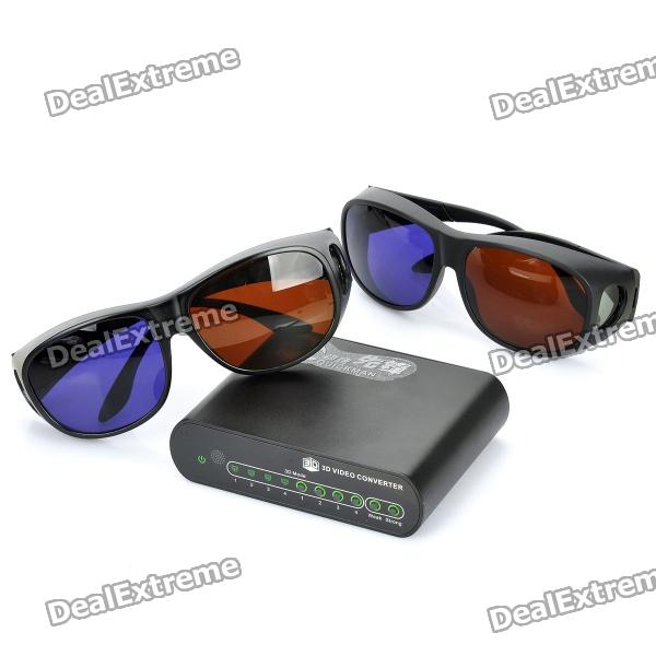 P Hd D To D Video Converter With D Glasses